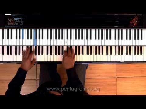 Clases de Piano -  progresiones armónicas con notas pedal