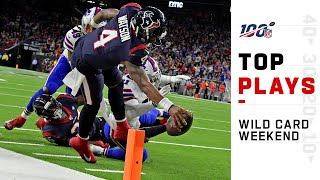 Top Plays from Wild Card Weekend | NFL 2019 Playoffs