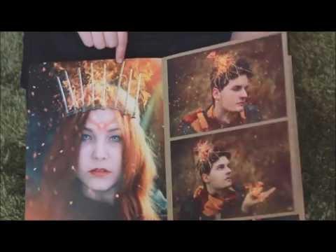 Predám rozprávkovú fantasy foto-knihu