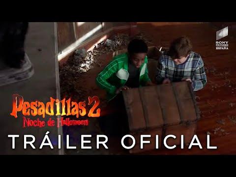 PESADILLAS 2: NOCHE DE HALLOWEEN. Teaser Tráiler Oficial HD en español. En cines 31 de octubre.
