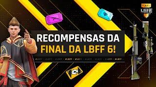 VAI TER SALA! | Recompensas da Final da LBFF 6 | FREE FIRE