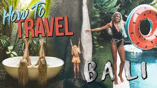HOW TO TRAVEL BALI