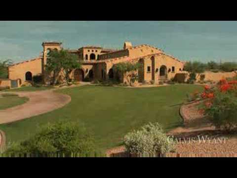 6 5 Million Dollar Luxury Video Home Tour Scottsdale