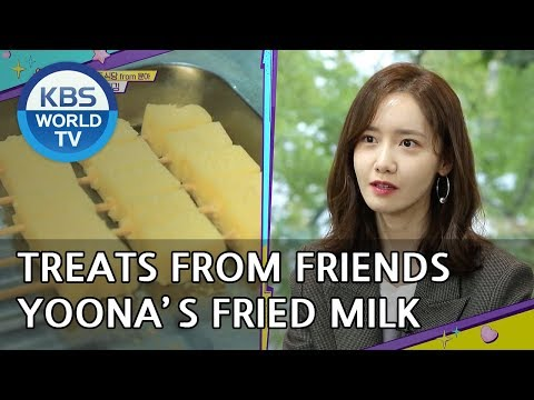 Treats from Friends: Yoona's Fried Milk [Happy Together/2018.11.08]