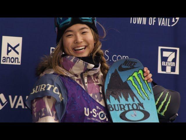 全盛時期的起點! 17歲韓裔美籍少女破紀錄奪冬奧單板滑雪金牌