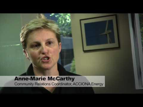 Gunning Wind Farm in Australia
