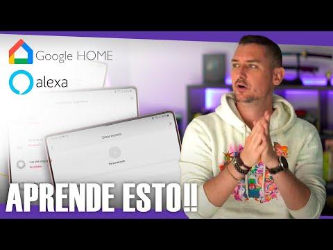 Aprende a programar escenas y rutinas en Google Home y Alexa   Resolviendo problemas #3