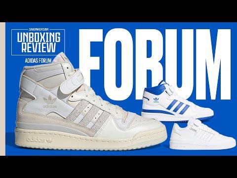Um Clássico Das Três Listras Nascido No Basquete | UNBOXING+REVIEW adidas Forum