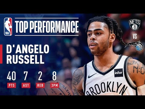 D'Angelo Russell Ties a CAREER-HIGH With 40 Points | January 18, 2019
