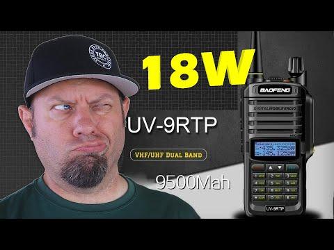 Baofeng UV-9R TP 18-watt Power Testing | UV9R Plus HT