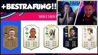 Timo VS Simon FUT DRAFT BATTLE mit BESTRAFUNG!!!😵😱 | Tisi Schubech FIFA 19 FUT DRAFT