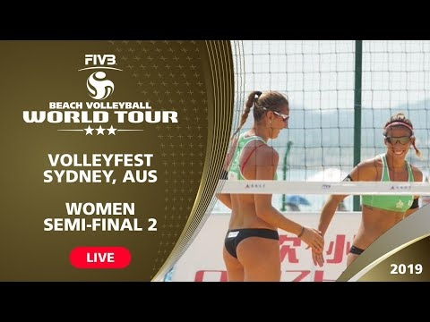 Sydney 3-Star 2019 - Women Semifinal 2 - Beach Volleyball World Tour