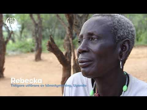 Rebecka har slutat med könsstympning