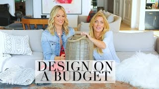 Beautiful Home Decor Tips for Less Money with Interior Designer Tiffany Harris