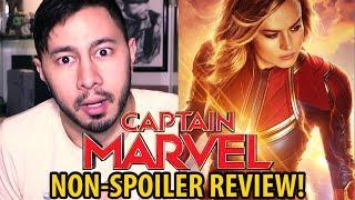 CAPTAIN MARVEL   Non-Spoiler Review