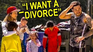 They did a Divorce Prank with their Kids......