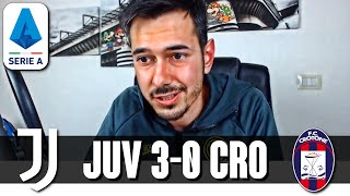 CRISTIANO RONALDO È TROPPO AFFAMATO | Juventus-Crotone 3-0 Serie A