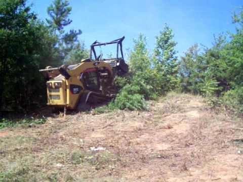 Brush and Tree Mulcher