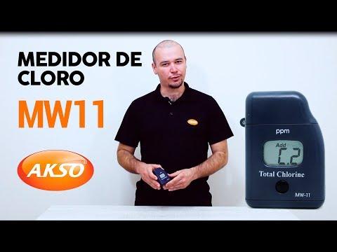 Fotômetro de Bolso para Cloro Livre e Total - MW11