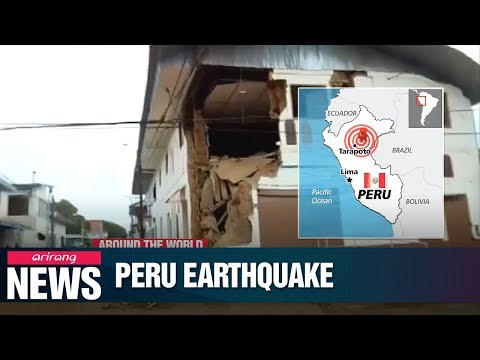 Peru earthquake leaves one dead and several injured