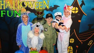 Halloween at The Great Wolf Lodge! Family Fun Pack