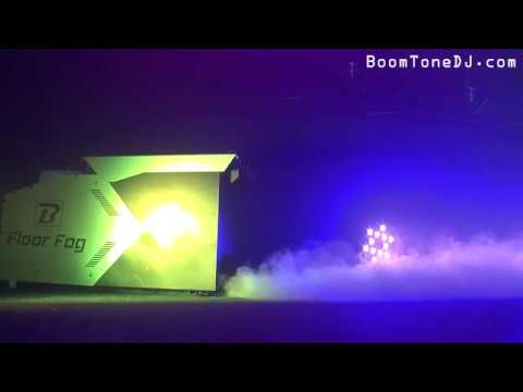 Vidéo BoomToneDJ - Floor fog (GB)