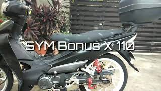 SYM BUNOS 110 with reflictorized sticker Videos - mp3toke