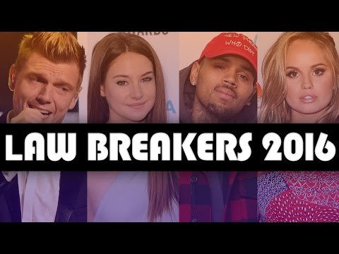 8 Celebs Who BROKE The Law In 2016