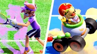 Mario Tennis Aces - All Character Trick Shots