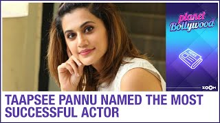 Taapsee Pannu becomes the most successful Bollywood actres..