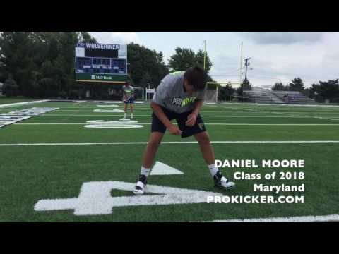 Daniel Moore, Ray Guy Prokicker.com Long Snapper, Class of 2018