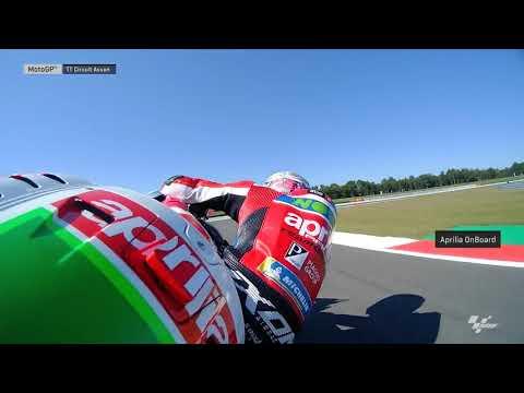Dutch GP: Aprilia OnBoard
