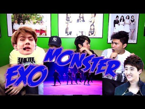 EXO - MONSTER MV REACTION (FUNNY FANBOYS)