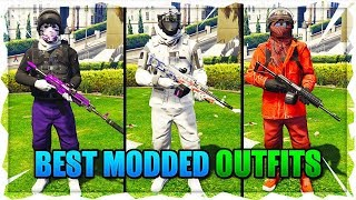 Top 3 Best TryHard & RnG Modded Outfits In GTA 5 After Patch 1.46! (Best Clothing Glitches 1.46)