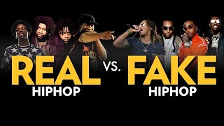 Real Hip Hop Vs. Fake Hip Hop
