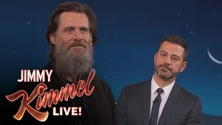 /jim carrey on his famous beard leaving the spotlight
