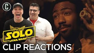 New Solo Movie Clip with Han and Lando Reaction