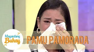 Pamu becomes emotional while talking about her family | Magandang Buhay