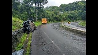 Terça-feira de acidentes nas rodovias da região