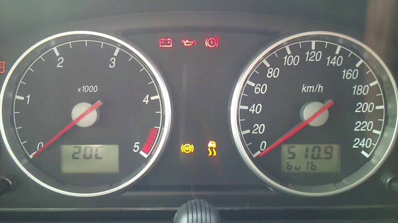 2005 Ford Focus Dash Lights Symbols