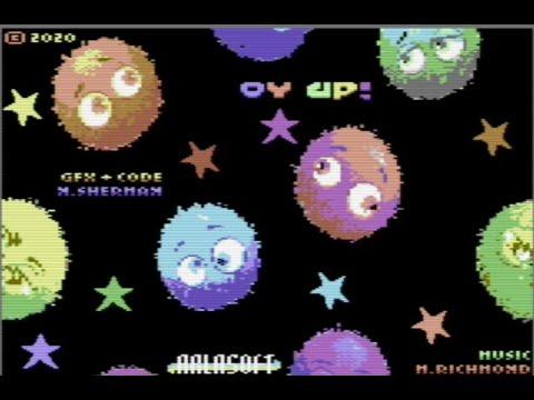 Oyup (c) 2020 Arlasoft p/ Commodore 64 - RETROJuegos
