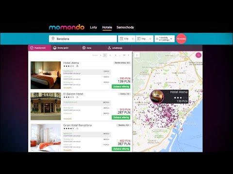 Jak znaleźć tanie hotele - momondo | reklama TV - PL