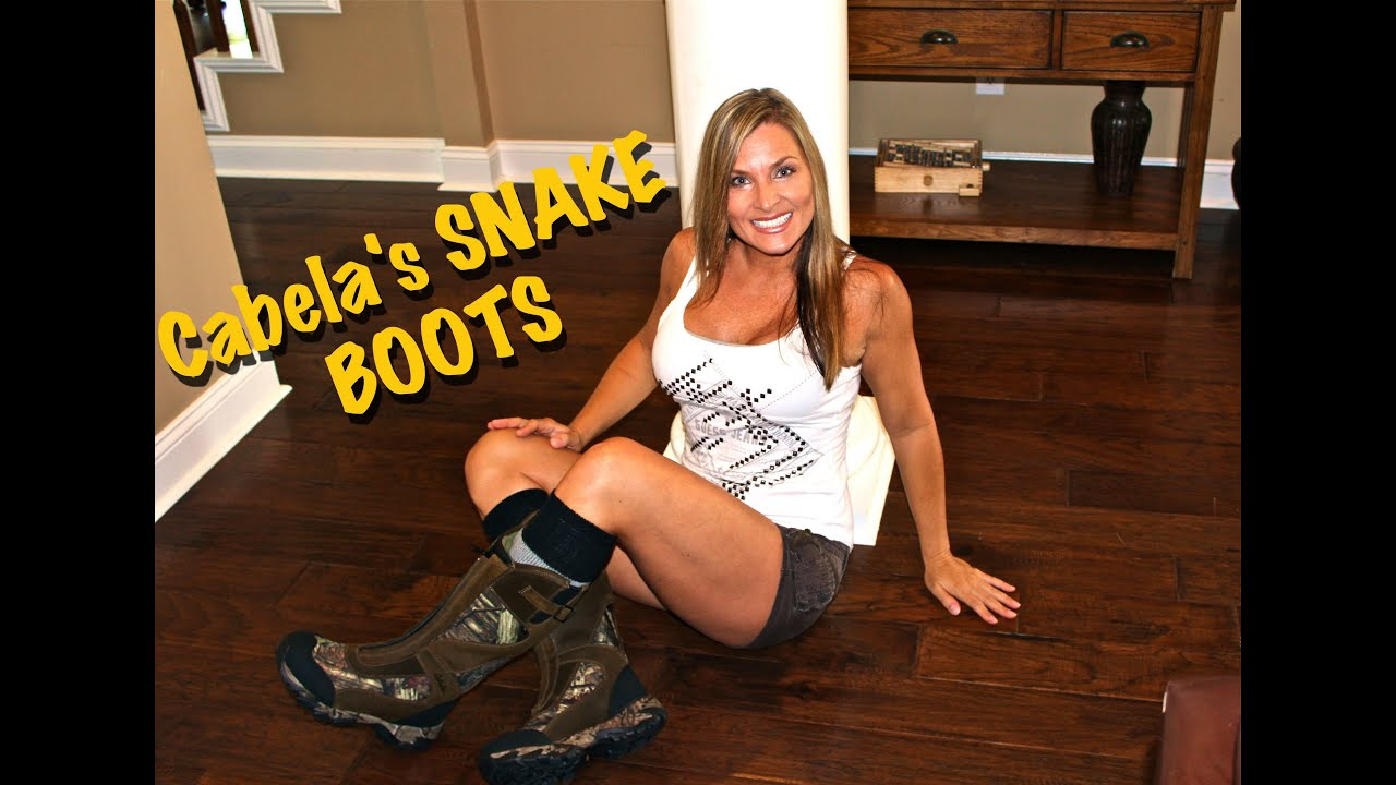 Cabela S Pinnacle Zipper Snake Boots My New Hunting Boots