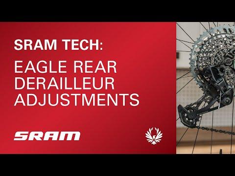 SRAM Tech: Eagle Rear Derailleur Adjustments
