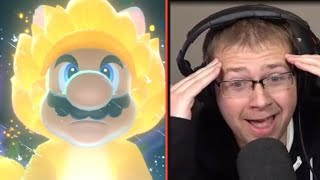 REACTING TO SUPER MARIO 3D WORLD + BOWSERS FURY NEW TRAILER