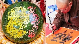 LUNAR NEW YEAR Tết CALLIGRAPHY FESTIVAL in HANOI 2018 | LIFE IN VIETNAM