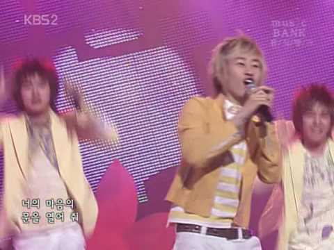 Super Junior Miracle on Music Bank 2006 04 02