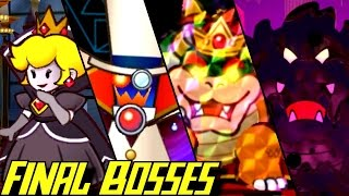 Evolution of Final Bosses in Paper Mario Games (2000-2016)