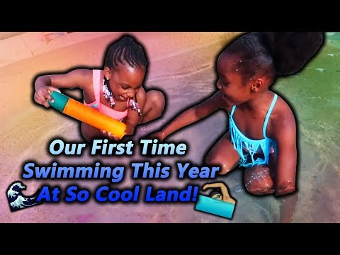 Swimming With Camari At So Cool Land!