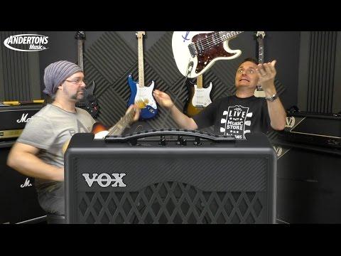 Vox VX1 & VX2 Super Light Guitar Practice Amps